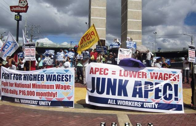 APEC's policy on unfair wage hike revealed in SSL 2015 — AWU