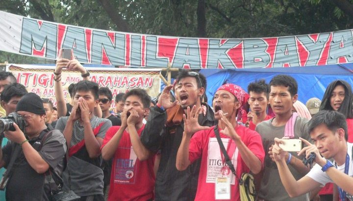 #Manilakbayan2015 | 'We have affected the center'