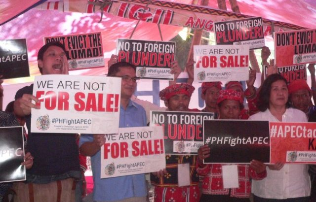 #PHFightAPEC:  'All roads lead to Manila protests'