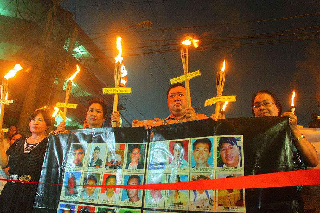 Kin, journos call for justice for Ampatuan Massacre victims