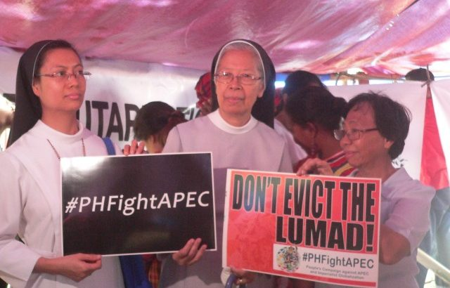 Mindanao nuns to Aquino: 'Leave the Lumád in peace'