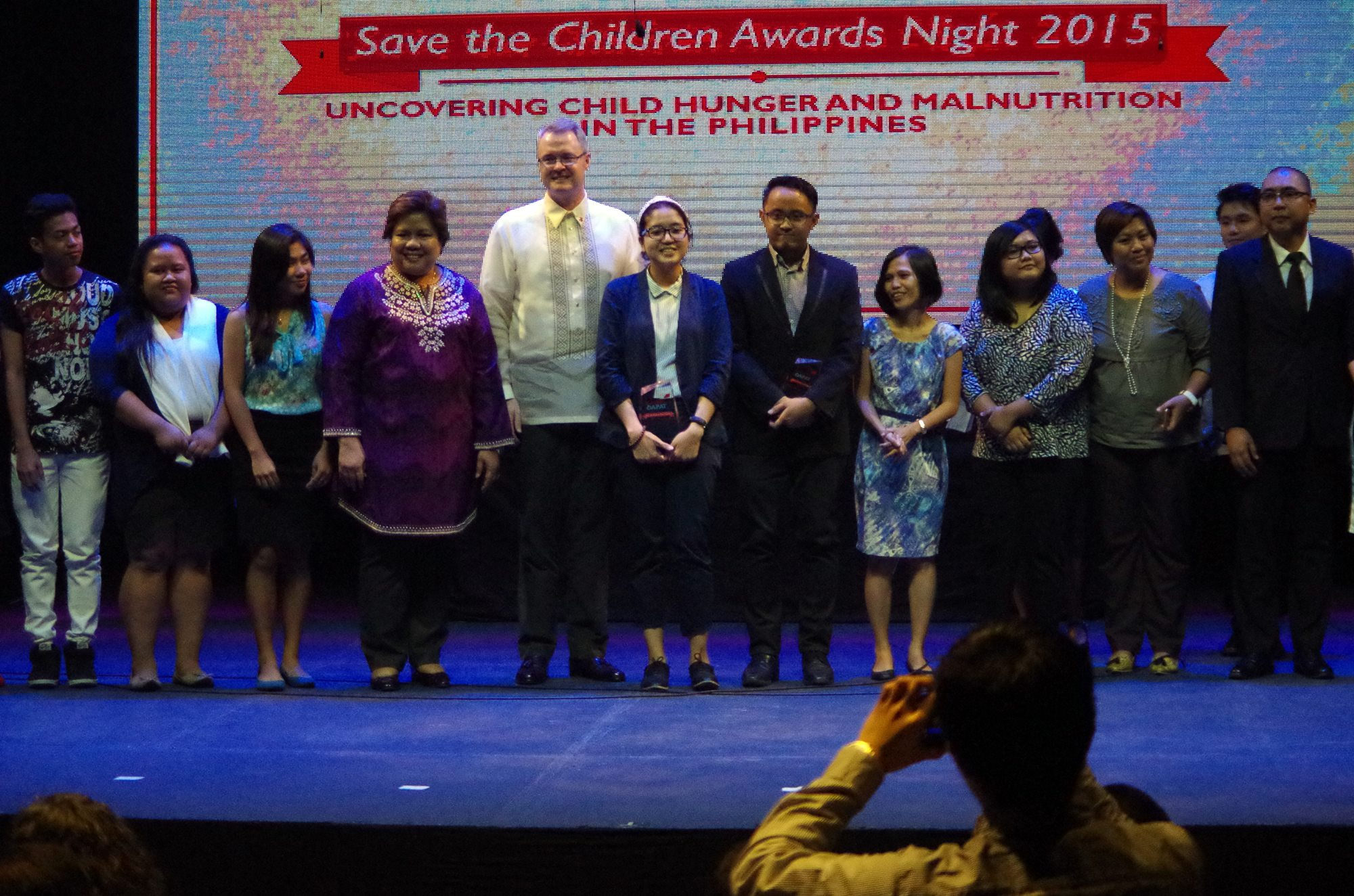 Bulatlat.coms' Ronalyn Olea was one of the finalists in the first Save the Children Media Awards: Uncovering child hunger and malnutrition. (Photo by Fred Dabu/ Bulatlat.com)