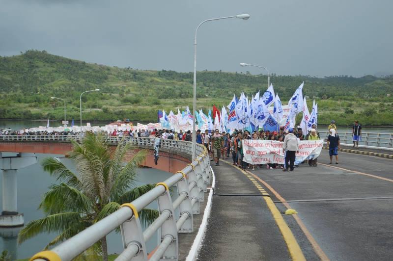 People Surge survivors march