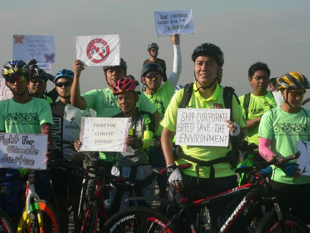 bikers for climate justice 1