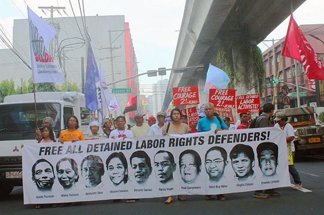 Under Aquino, political dissent is a crime