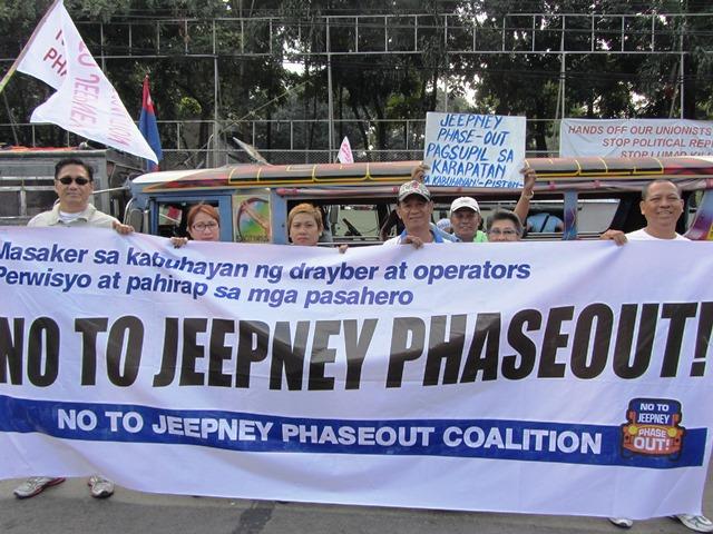 Bulatlat picture jeepney operators
