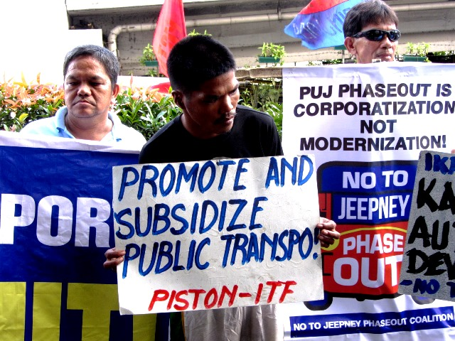 Drivers demand transport subsidy