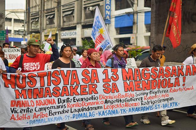 29 years after the Mendiola Massacre, farmers have the same call: genuine agrarian reform. (Photo by Loi Manalansan / Bulatlat.com)