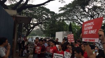 UP students protest 'colonial, anti-Filipino' curricular reforms