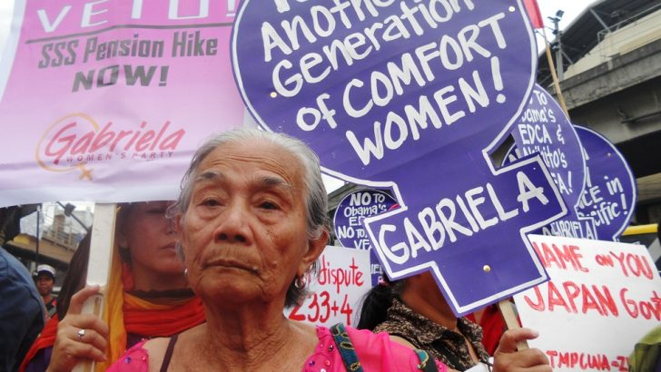 'Comfort women' want Japan's apology, not VFA