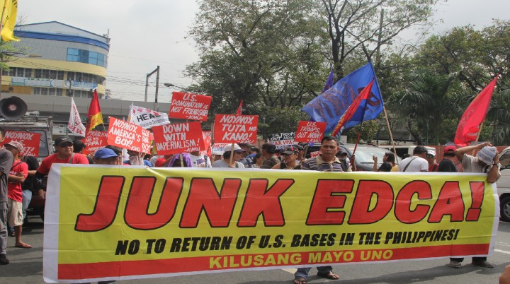 Youth groups urge Duterte to junk Edca