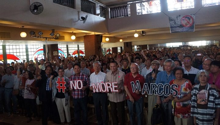 #NoMoreMarcos | 'Martial law victims have long memories'