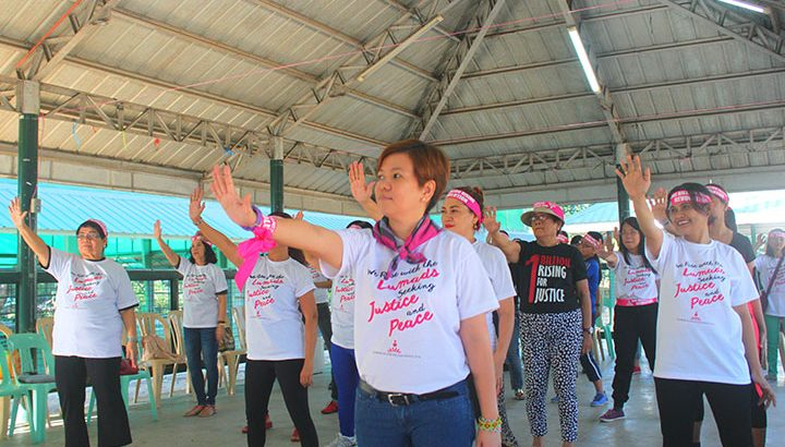 #OneBillionRising | Church women dance for Lumad