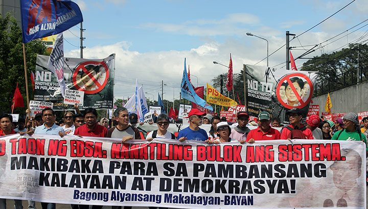Martial law activists commemorate 30 years since EDSA 1 uprising