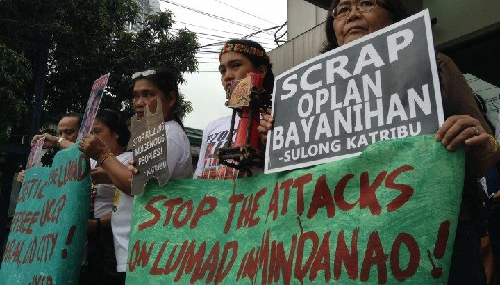 German rights group, daughter of slain tribal leader bring cases of Lumad killings to UN