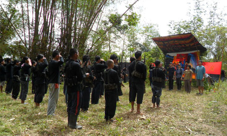 NPA units in Agusan del Sur. (Photo by NDF NEMR)
