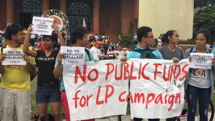UP groups call for 'zero votes for LP'