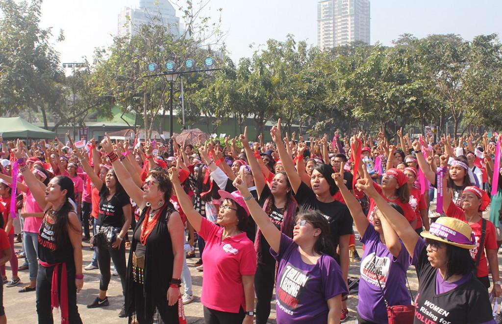 Images | #OneBillionRising in Manila