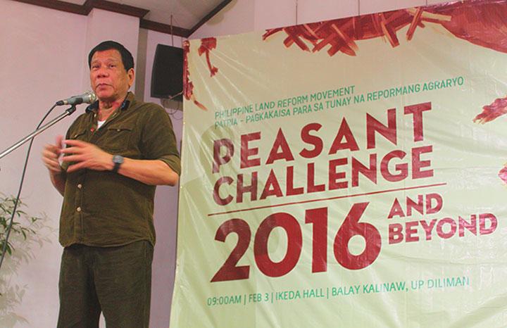 Direction of Duterte gov't: 'Compassion, real change'