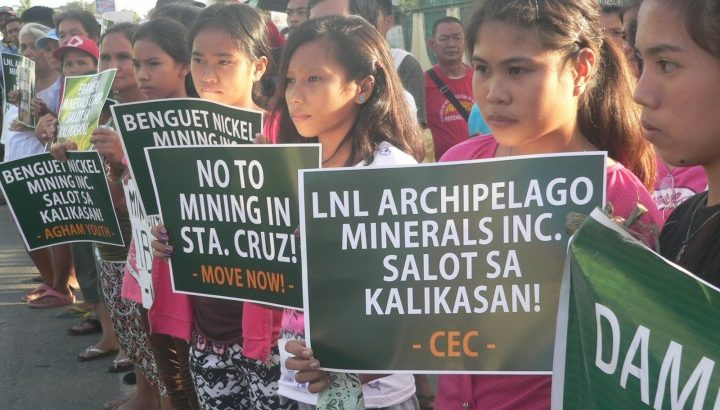 Zambales town folk want big mining companies out