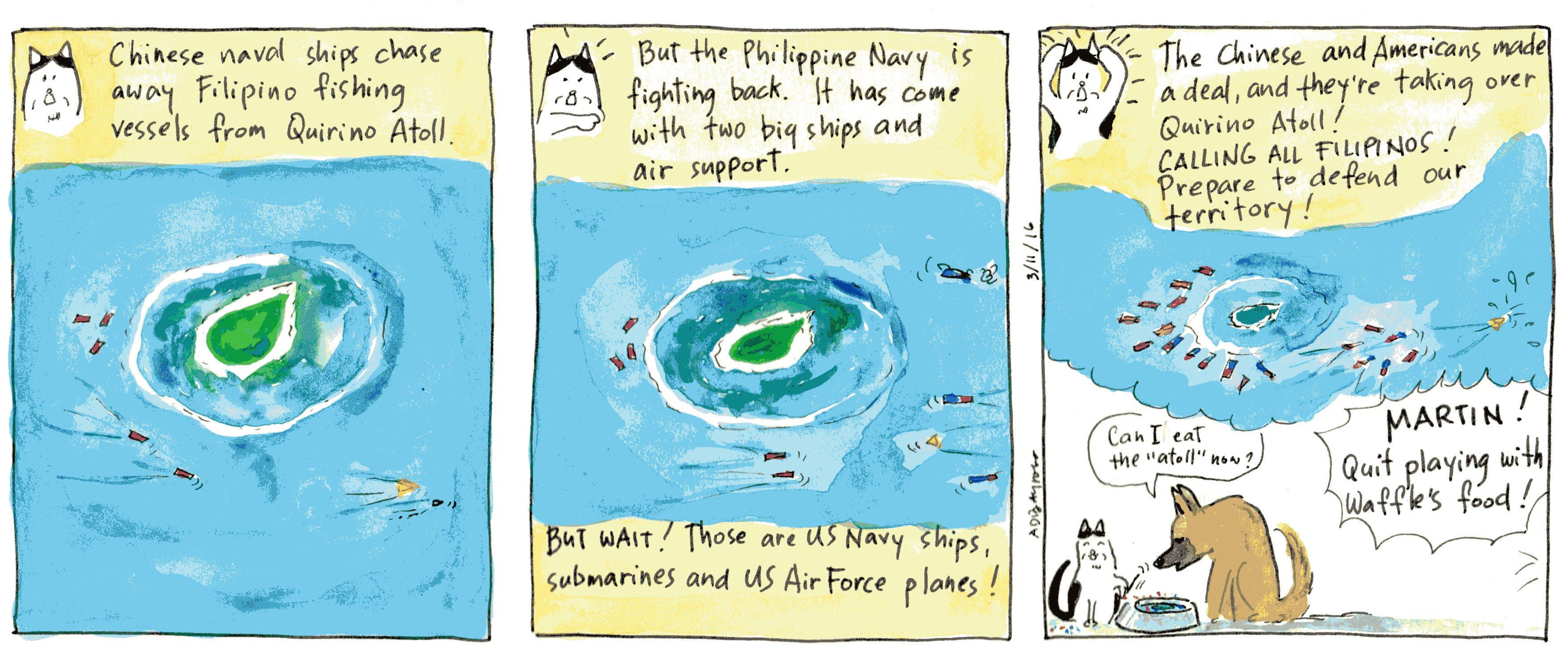 03_13_16 Tension at South Chow-na Sea