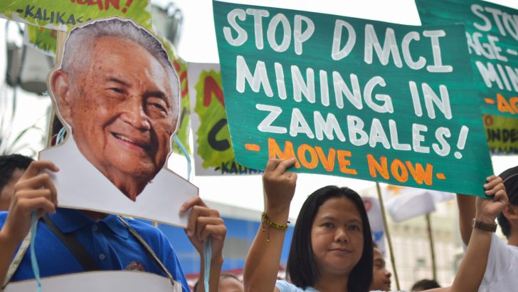 Activists slam DMCI as 'example of irresponsible mining' under 21-year-old law