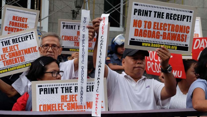 Election watchdog protests Comelec's 'sinister acts'