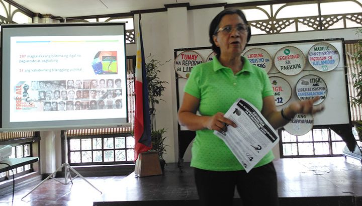 #Elections2016   Peasant women dare candidates to push for genuine land reform