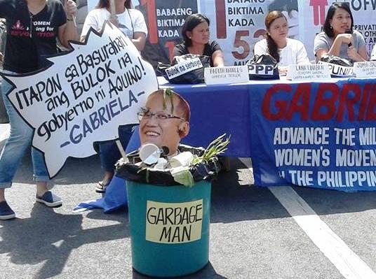 Women's group bids goodbye to PH 'Garbage Man'