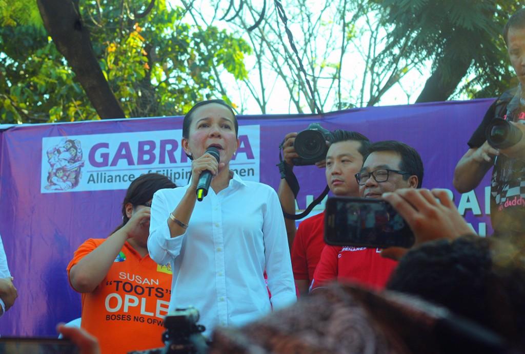 Poe, candidates support women's agenda