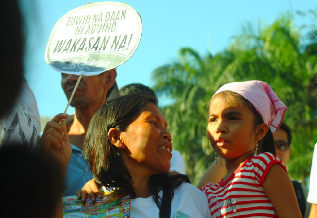 International women's day | Women say 'no more to daang matuwid'