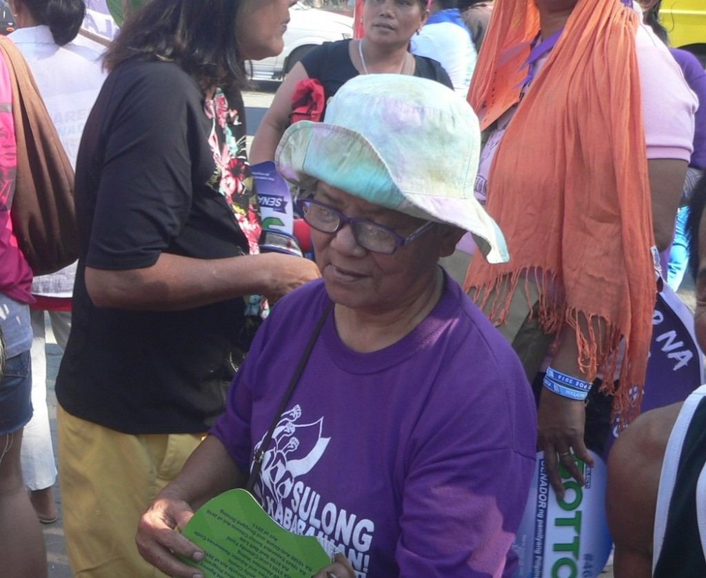 Inocenta Wenceslao | Tireless woman organizer from Davao to Quezon City
