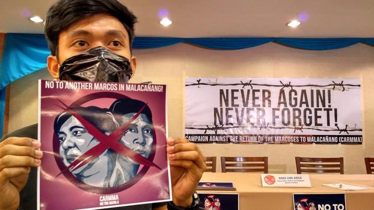 Press freedom advocates buck Bongbong's VP bid