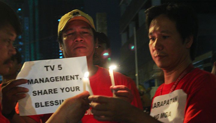 TV5 union, management in deadlock over wage, labor rights
