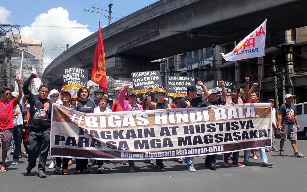 Groups demand justice for Kidapawan victims