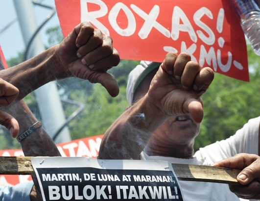 Drivers vow zero votes for Mar, LP Roxas