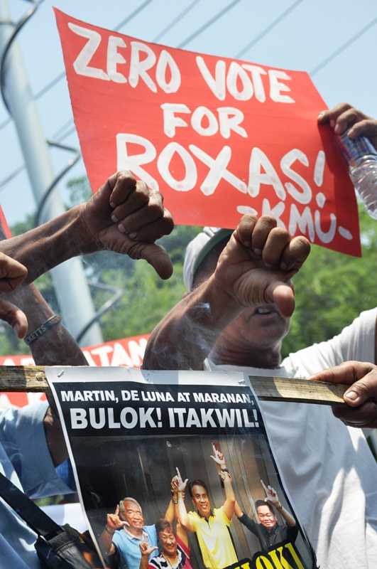 Zero vote Mar Roxas