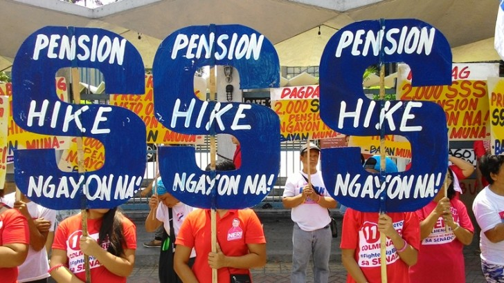 Congress halfway near trumping Aquino veto of pension hike