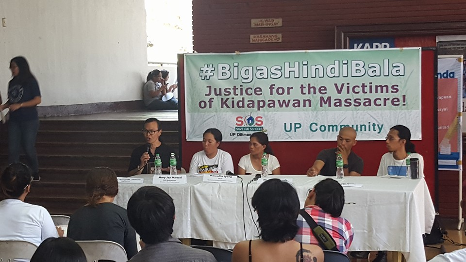 UP professors support Cotabato farmers' call for food, justice