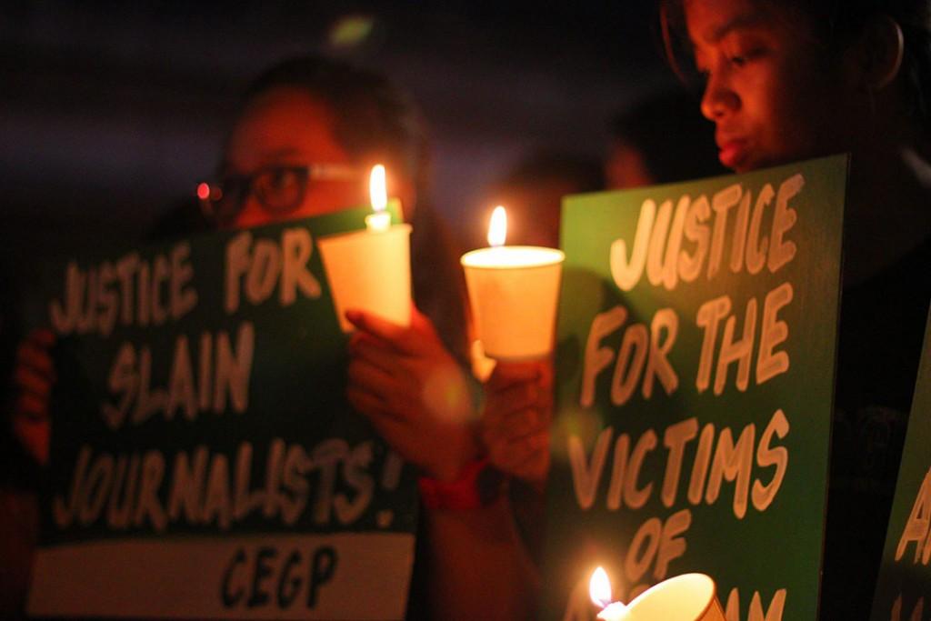 Journos to Duterte: Address media killings