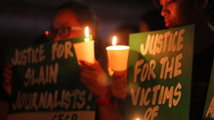 Journos to Duterte: Address media killings