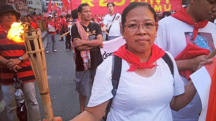 OFWs mourn passing of Sol Pillas, 'migrant warrior and leader'