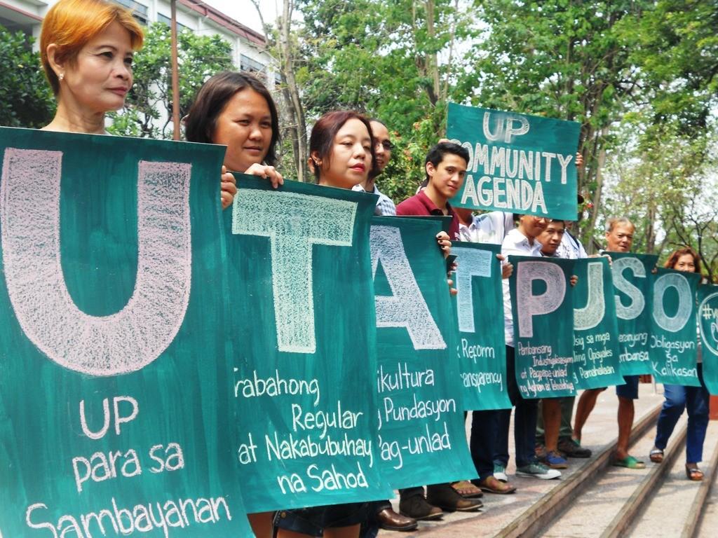 UP community announces 10-point electoral agenda