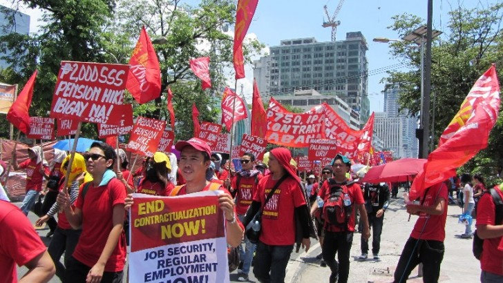 Labor Day protests highlight calls for wage hike, end to EnDO, US imperialism