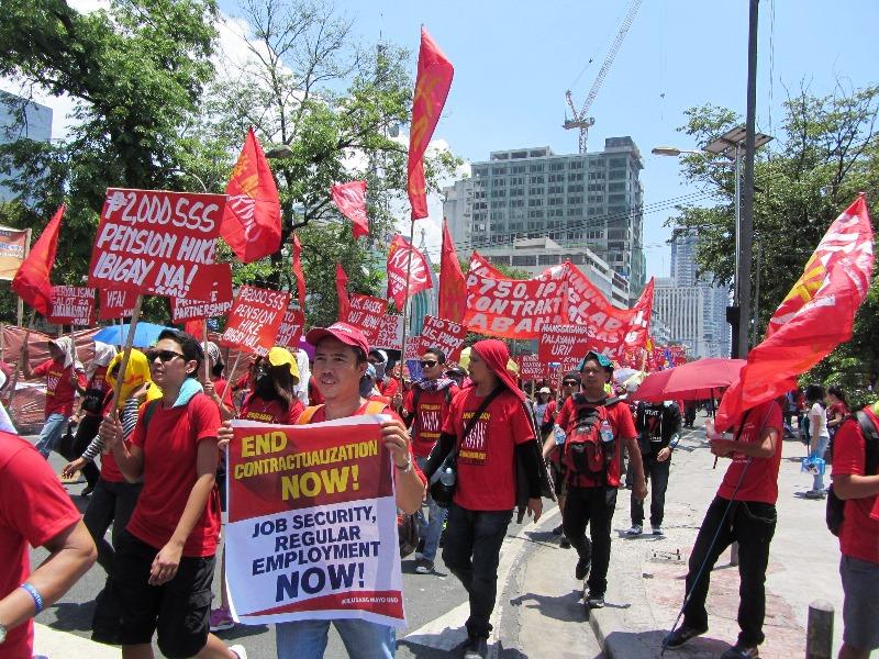 Aquino's legacy| Proliferation of contractual, seasonal, low-quality jobs
