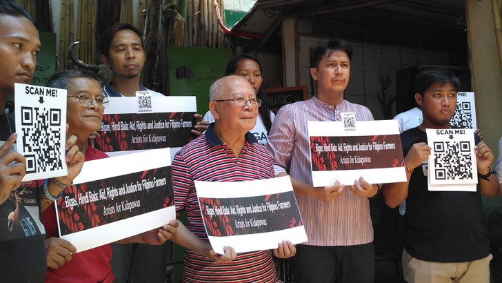 Artists vow to continue solidarity with drought-stricken farmers