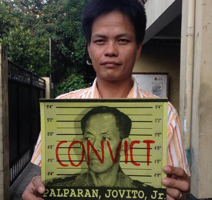 'Frustrated' torture victim asks Duterte, court to hasten trial of Palparan