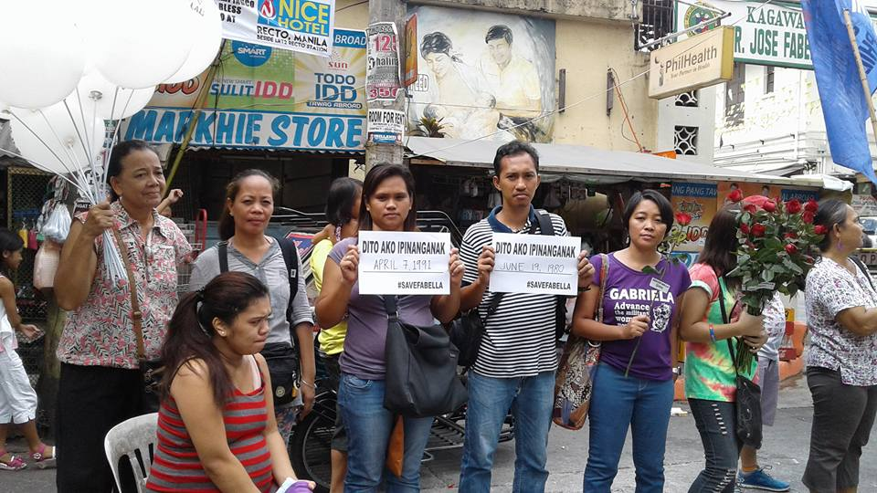 On Mother's Day, mothers join calls to Save Fabella