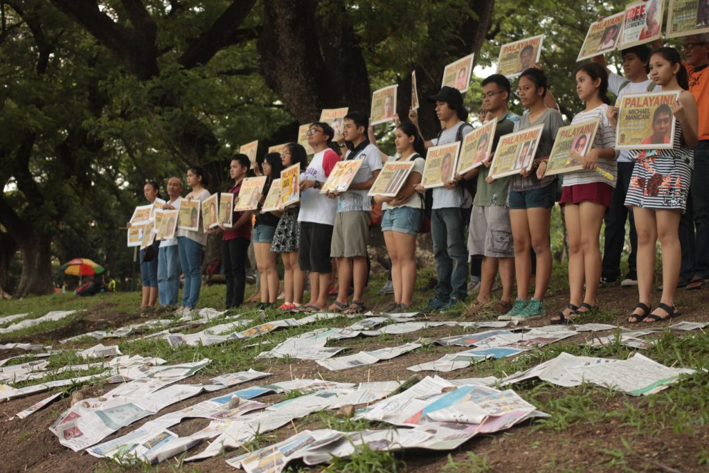 Groups, kin call on incoming Duterte gov't: 'Free all political prisoners'