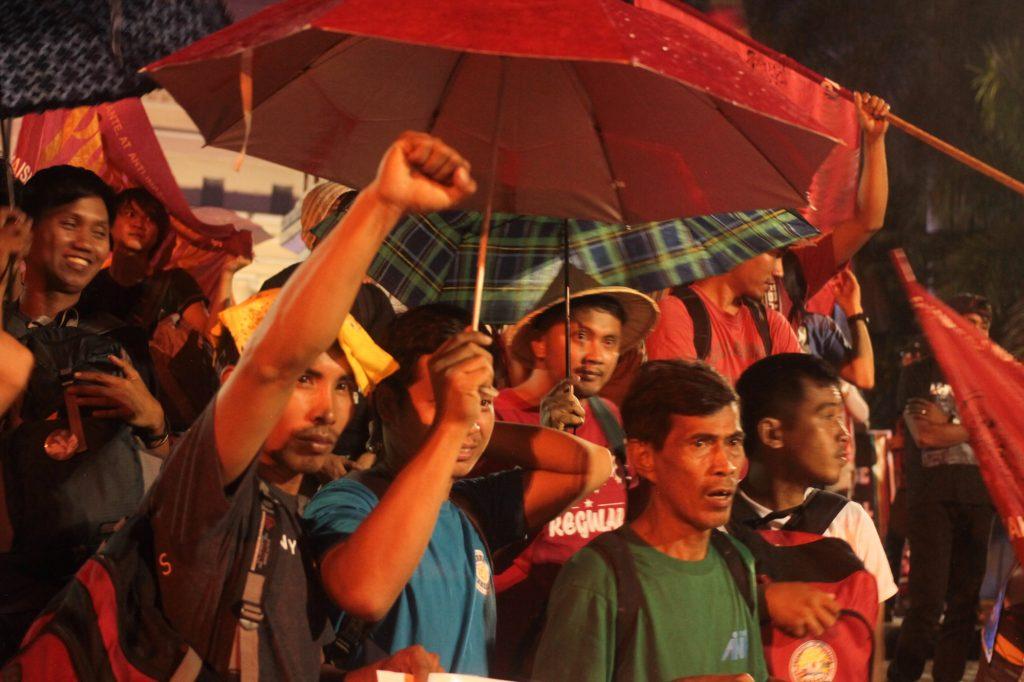 Vigil for President Duterte's inaugural